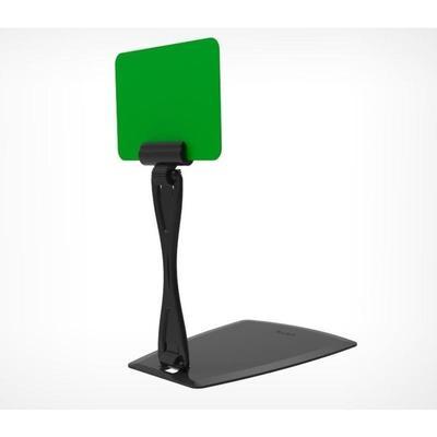 Комплект для крепления ценников Deli-Unbo с изменяемым углом наклона пластиковый черный (20 штук в упаковке)