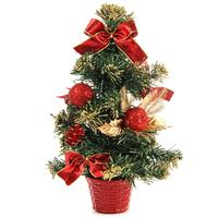 Елка новогодняя настольная 30 см с декором (81864)