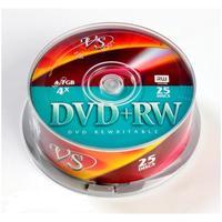 Диск DVD+RW VS 4,7 GB 4x (25 штук в упаковке)