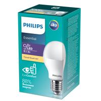 Лампа светодиодная Philips 9 Вт E27 грушевидная 3000 К теплый белый свет
