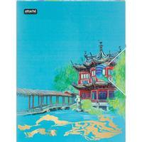 Папка на резинке Attache Selection Travel China А4+ 18 мм пластиковая до 200 листов (толщина обложки 0.55 мм)