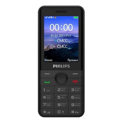 Мобильный телефон Philips Xenium E172 черный