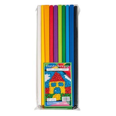 Бумага для творчества крепированная Werola разноцветная (50х200 см, 32 г/кв.м)