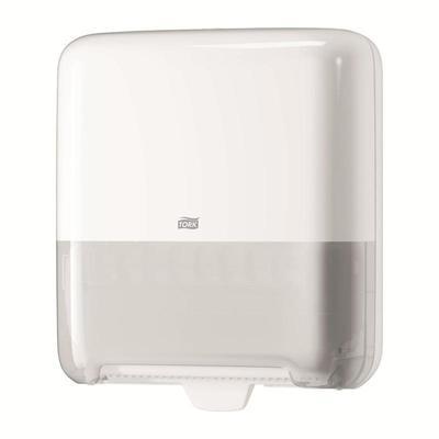 Уценка. Диспенсер для рулонных полотенец Tork Matic Elevation H1 пластиковый белый (код производителя 551000)