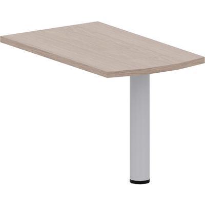 Приставка к столу с опорой Born (дуб девон, 1200x700x750 мм)