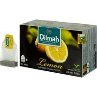 Чай Dilmah Lemon черный с лимоном 20 пакетиков