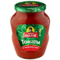 Томаты Дядя Ваня в томатном соке 680 г