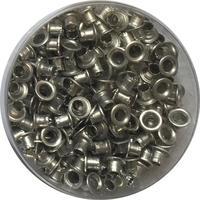 Люверсы для дырокола Attache 250 штук в упаковке диаметр 4.5 мм серебристые