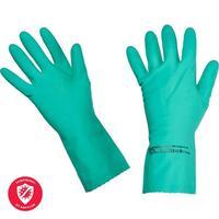 Перчатки латексные Vileda Professional Многоцелевые повышенная прочность зеленые (размер 6.5-7, XS-S, 100755)