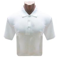 Рубашка Поло (190 г), короткий рукав, белый (L)