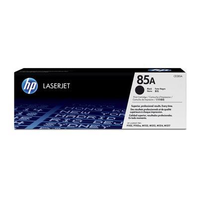 Картридж лазерный HP 85A CE285A черный оригинальный