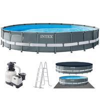 Каркасный бассейн Intex 610x122 см