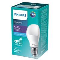 Лампа светодиодная Philips 9 Вт E27 грушевидная 6500 К холодный белый свет