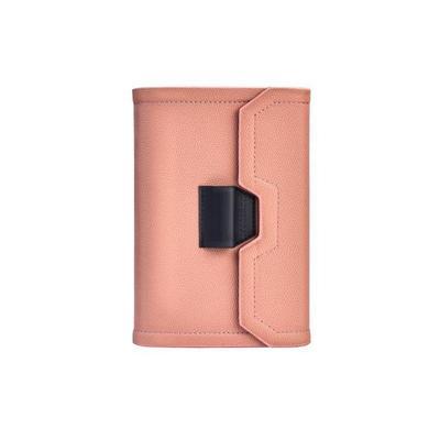 Ежедневник недатированный Феникс+ искусственная кожа A6+ 120 листов розовый (165x220 мм)