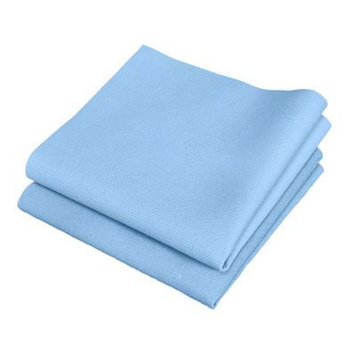 Салфетки хозяйственные Fullbox Glass 80094 микрофибра 35x40 см синие 5 штук в упаковке