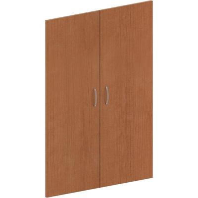 Двери средние Эталон (2 штуки, ЛДСП, высота 1176 мм, орех гварнери)