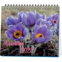 Календарь-домик настольный на 2022 год Времена года (120x110 мм)