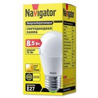 Лампа светодиодная Navigator NLL-G45-8.5-230-2.7К-E27 (61336)