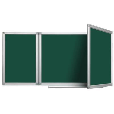 Доска магнитно-меловая 100x300 см BoardSYS Premium лак (трехсекционная)