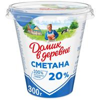 Сметана Домик в деревне 20% 300 г