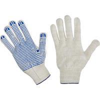 Перчатки рабочие трикотажные с ПВХ Точка 5 нитей 10 класс 52 г (300 пар в упаковке)