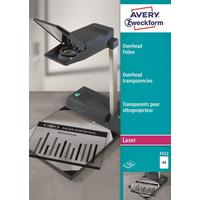 Пленка для проекторов Avery Zweckform AZ3552 прозрачная А4 (100 листов, артикул производителя AZ3552)