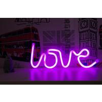 Светильник светодиодный неоновый Старт Love