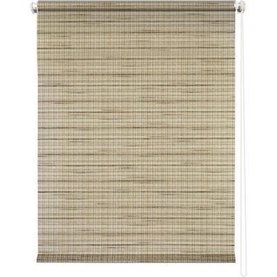 Рулонная штора Рига 7712 коричневый (500х1750 мм)