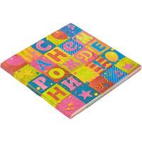 Салфетки бумажные Веселая затея СДнем рождения! 33х33 см (12 штук в упаковке)