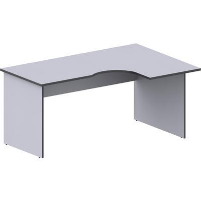 Стол эргономичный Агат АСС-44 правый серый (1600x1100x750 мм)