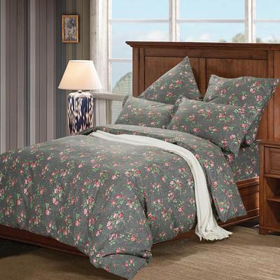 Постельное белье СайлиД A-179 (2-спальное с европростыней, 2 наволочки 70х70 см, поплин)