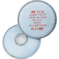 Фильтр противоаэрозольный 3М 2138 марка Р3 от аэрозолей (2 штуки в упаковке)