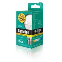 Лампа светодиодная Camelion 15 Вт Е27 грушевидная 3000 К теплый белый свет