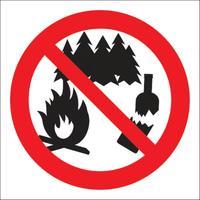 Знак безопасности Не мусорить Р39 (200x200 мм, пластик)