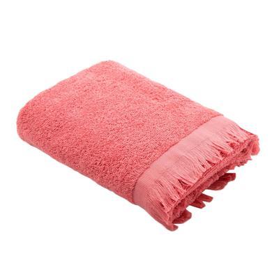 Полотенце махровое Love Life Fringe 70x130 см 360 г/кв.м розовое