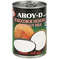 Молоко Aroy-D Кокосовое стерилизованное 17-19% 0.4 л