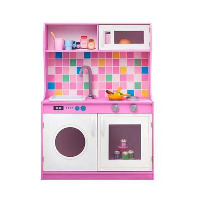 Кухня игрушечная Paremo Алвеоло Лилла Мини розовая