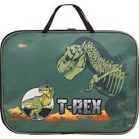 Папка для тетрадей №1 School T-Rex А4 на молнии