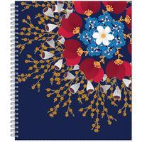 Тетрадь общая №1 School Flower Fantasy А5 80 листов в клетку на спирали