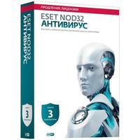 Антивирус Eset NOD32 продление для 3 ПК на 12 месяцев (NOD32-ENA-2012RN (BOX)-1-1)