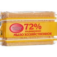 Мыло хозяйственное Меридиан 72% 150 г (в обертке)