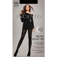 Колготки женские Incanto MicroVelvet nero 100 den размер 3