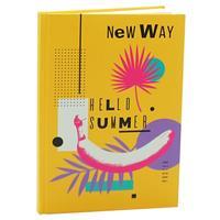 Блокнот Канц-Эксмо New way 8 А5 80 листов дизайнерский на сшивке
