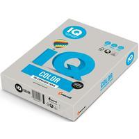 Бумага цветная для печати IQ Color серая медиум GR21 (А4, 80 г/кв.м, 500 листов)