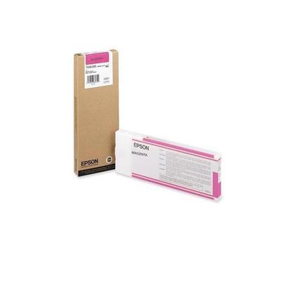 Уценка. Картридж струйный Epson C13T606300 пурпурный оригинальный повышенной  емкости. уц_тех