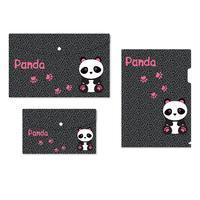 Набор папок №1 School Panda 3 штуки в упаковке (уголок А4, конверт на  кнопке А4, А5)