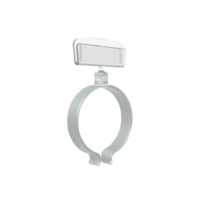 Ценникодержатель кольцевой на колбасу RING-CLIP 45-70 (10 штук в упаковке)