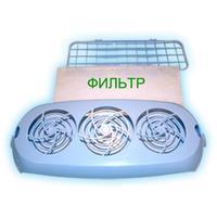 Фильтр воздушный сменный Кронт для облучателей Дезар-2/3/4/5/7 (12 штук в упаковке)