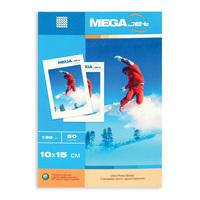 Фотобумага для цветной струйной печати ProMega jet односторонняя (глянцевая микропористая, 10х15 см, 190 г/кв.м, 50 листов)