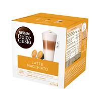 Кофе в капсулах  для кофемашин Nescafe Dolce Gusto Latte Macchiato (16 штук в упаковке)